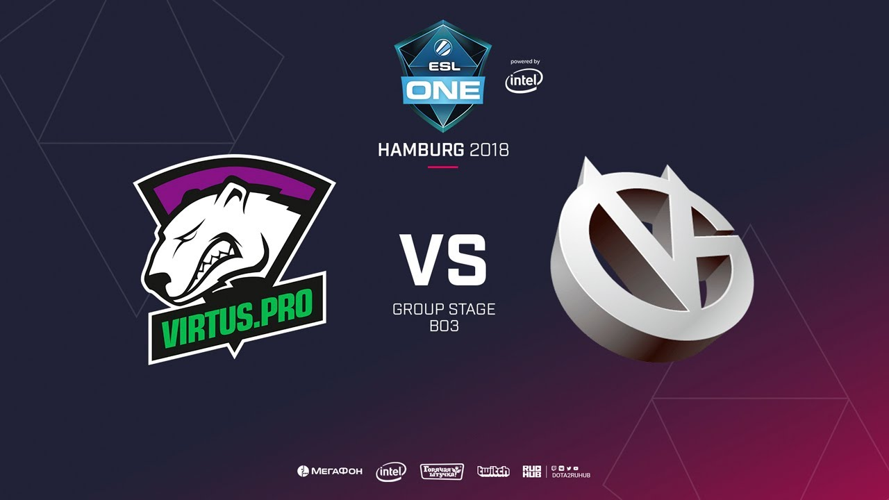 Virtus.pro vs Vici Gaming, ESL  One Hamburg, bo3, game 2 [Maelstorm & Jam]