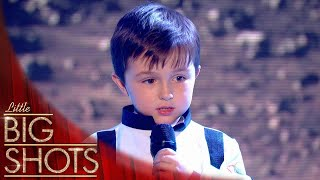 Cutest Space Oddity Cover By Little Spaceman Thomas | Little Big Shots