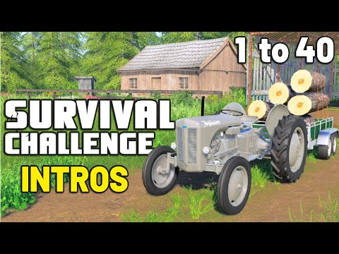 SURVIVAL CHALLENGE INTROS - Episodes 1 to 40