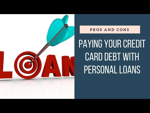 Pros And Cons Personal Loan To Pay Off Credit Card Debt