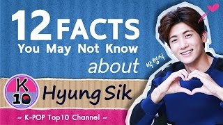 😍 12 FACTS You may not know about Park Hyung Sik  [박형식]