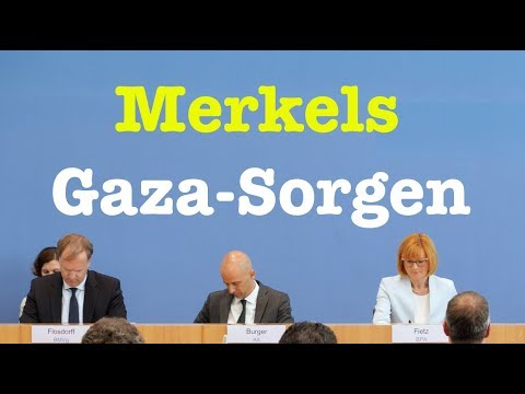 18. Mai 2018 - Bundespressekonferenz - RegPK