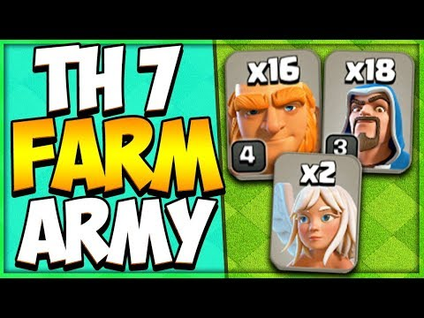 TH 7 Attack Strategy Guide 2019 | Best Town Hall 7 Farming Strategy | Clash Of Clans