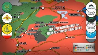 12 января 2018. Военная обстановка в Сирии. Неудачная контратака боевиков на западе Сирии.