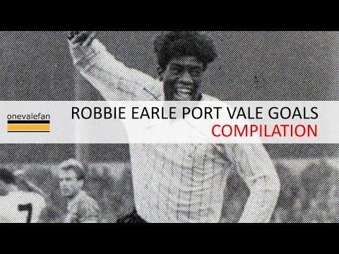 Robbie Earle Port Vale goal compilation