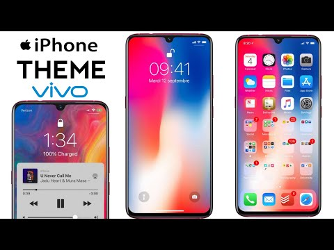 iphone x theme download for vivo y83