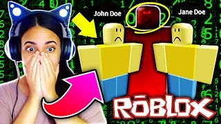 JOHN DOE HACKED ME ON ROBLOX!! 😱 MARCH 18 2017! Roblox John Doe and Jane Doe Mystery