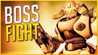 OVERWATCH: ¡¡BOSS FIGHT!! PARTIDA LOCA | Makina