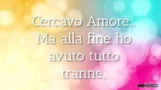 Emma marrone - Cercavo amore. con Testo.