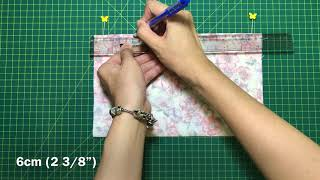 Korean style face mask sewing tutorial DIY Fabric face mask with filter pocket DIY at home