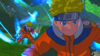 chakra concentration naruto rise of a ninja   walkthrough part 9 gameplay xbox 360