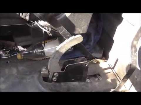 Как поменять трос ручника на газели видео