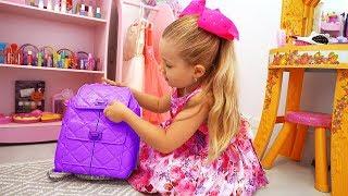 VLOG Диана показывает свою Комнату и Игрушки