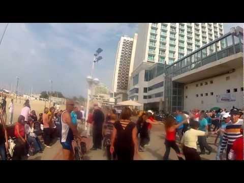 Primeiro Vídeo do Sábado em Tel Aviv - Legal!