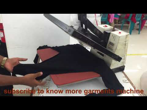 Stone setting in a Garments || By Heat Press machine Technology.