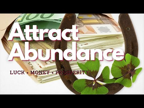 ULTRA POWERFUL! Attract Abundance of Luck Money and Prosperity (Classical Music) Subliminal