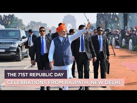 The 71st Republic Day Celebrations From Rajpath, New Delhi