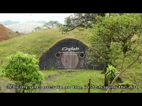 Misty Mountain Shire Hobbit Homes in Costa Rica