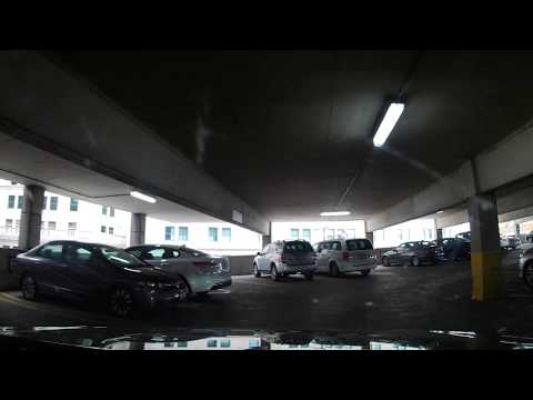 Driving In The US Bank Parking Garage - Downtown Cleveland, Ohio