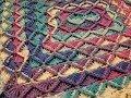 The Bavarian Stitch Blanket Crochet Tutorial!