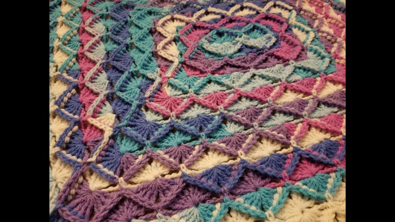 The Bavarian Stitch Blanket Crochet Tutorial Youtube