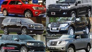 Large SUV Battle Expedition VS Land Cruiser VS Suburban VS Pajero VS Durango VS Patrol