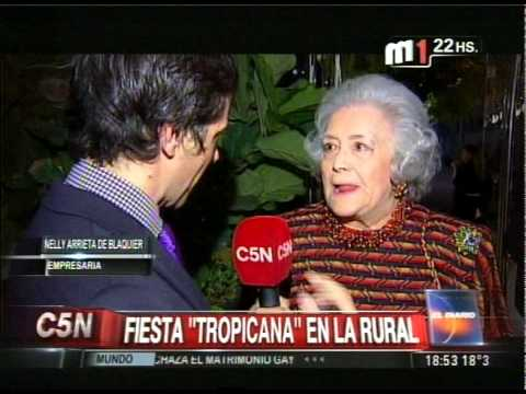 C5N - SOCIEDAD: FIESTA TROPICANA EN LA RURAL