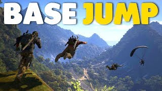 5 EPIC Base Jumps In Ghost Recon Wildlands