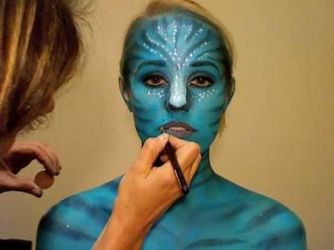 Avatar Face Paint Youtube
