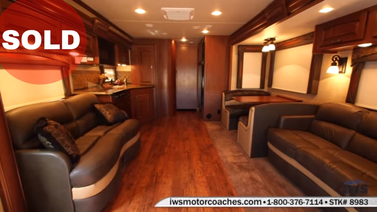 SOLD - IWS Motor Coaches 2014 Jayco Seneca 37 TS Interior