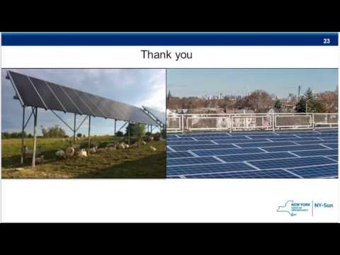 NY-Sun's November 2016 Training for the New Unified Solar Permit