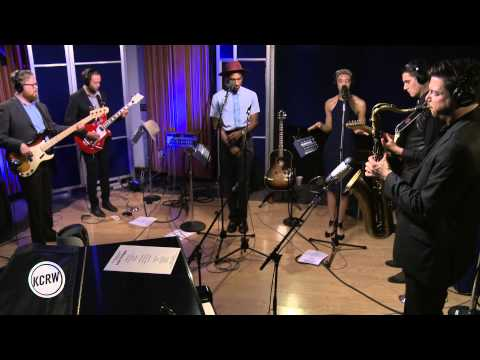"Leon Bridges performing ""Lisa Sawyer"" Live on KCRW"