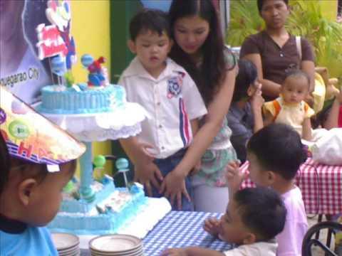 Emmanuel Josef Yanga Ramirez Birthday party
