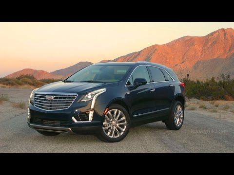 2017 CADILLAC XT5 PLATINUM AWD CROSSOVER SUV - Full Video Review