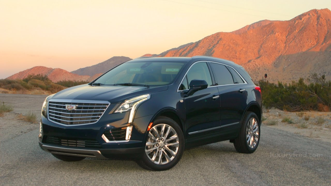 2017 CADILLAC XT5 PLATINUM AWD CROSSOVER SUV - Full Video Review - YouTube