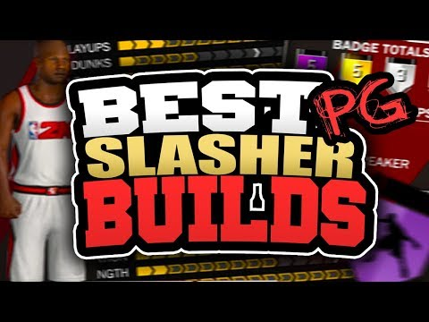 BEST SLASHER POINT GUARD BUILDS in NBA 2K18! HOW TO CREATE MOST OVERPOWERED POINT GUARD IN 2K18!