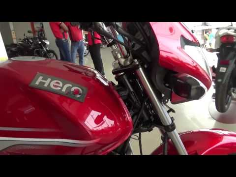 2017 NEW HERO ACHIEVER 150 WITH i3S TECHNOLOGY COLOR FIERY RED