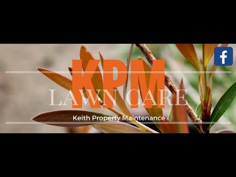 VLOG #3 March 2018 Lawn Mowing, Landscape & Gardening with KPM - Keith Property Maintenance