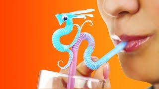 20 TRULY MAGICAL HACKS AND CRAFTS WITH STRAWS