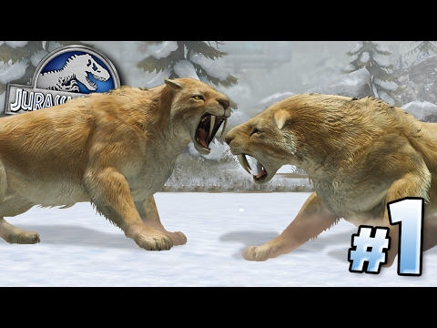 ICE AGE BEASTS!!! || Jurassic World - Cenozoic Series - Ep1 HD