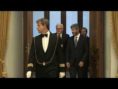 Fico riceve Presidente della Repubblica Federale di Germania Steinmeier