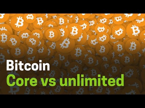 Bitcoin Core vs Bitcoin Unlimited #Cryptocositas