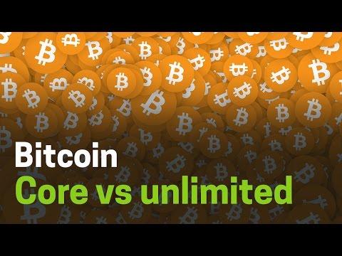 Bitcoin Core vs Bitcoin Unlimited #Cryptocositas