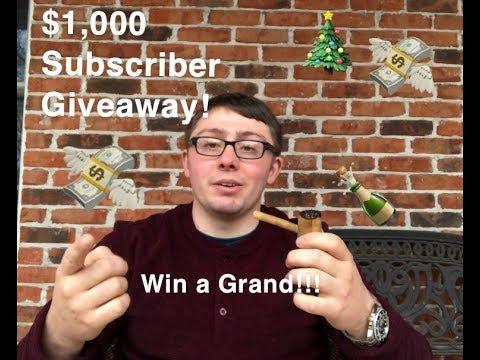 $1,000 CHANNEL GIVEAWAY!!!- Win A Thousand Dollars Free!