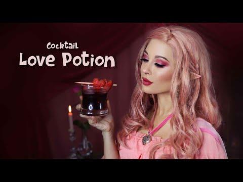 D&D Drinks: Love Potion Cocktail