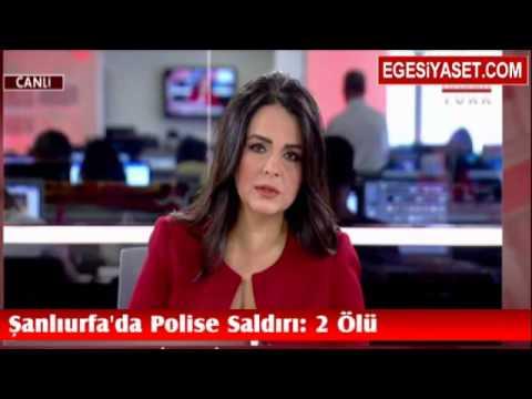 Şanlıurfa Ceylanpınar'da Polise Evinde Şok Saldırı