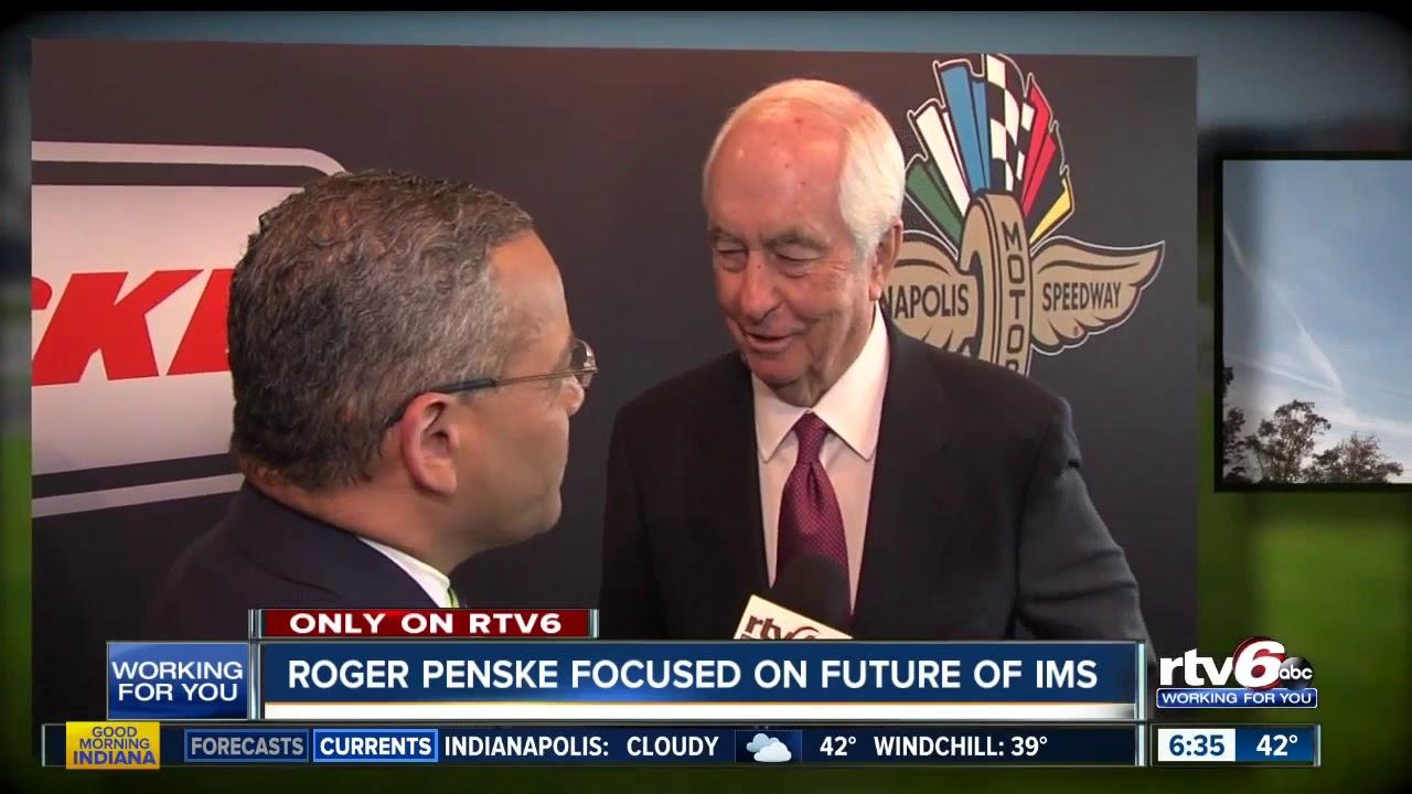 Roger Penske focused on future of IMS