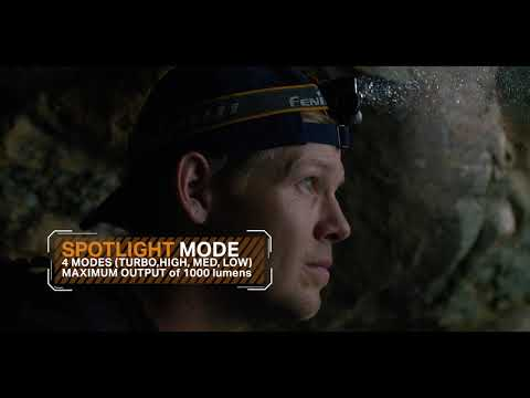 Fenix HM65R the best headlamp for Hiking, Backpacking, Running & Camping - Ragged Wood Production