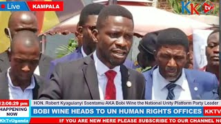 Watch Bobi Wine's Words that left Museveni Crying Today