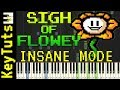 Learn to Play Sigh of Flowey from Undertale AU   Insane Mode